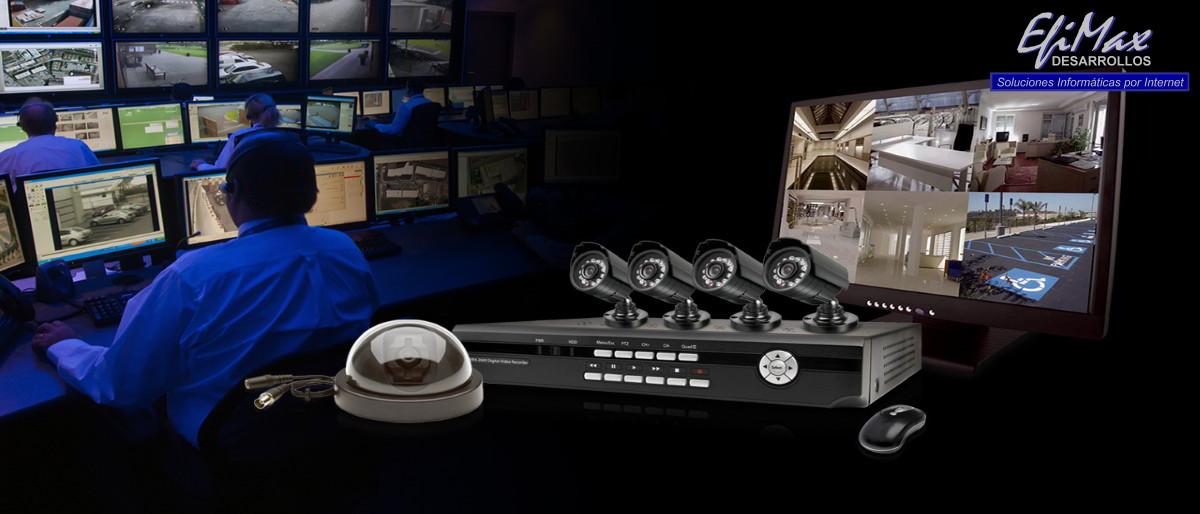 Monitoreo CCTV de Desarrollos EfiMax