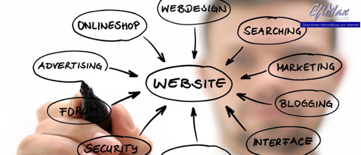 Servicio de WEB Manager de Desarrollos EfiMax